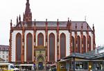 Würzburg. Marienkapelle von Süden vom Marktplatz