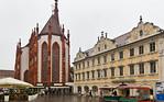 Würzburg. Marienkapelle von Osten vom Oberen Markt