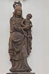 Würzburg. Marienkapelle: Maria vom Westportal (um 1430)