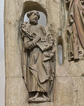 Würzburg. Dom: Petrus vom Apostelaltar
