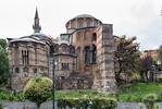 Istanbul, Chora-Kloster (Kariye Camii): Apsiden von Osten