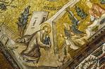 Istanbul, Chora-Kloster: Lobpreisung der Priester - Maria wird von Joachim gebracht (16)