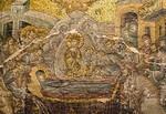 Istanbul, Chora-Kloster: Naos, Marientod, Detail