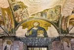 Istanbul, Chora-Kloster: äN J3 O: Hochzeit zu Kanaa, Brotvermehrung, Pantokrator (42,43,2)