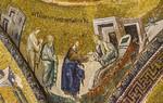 Istanbul, Chora-Kloster: Heilung der Schwiegermutter des Petrus (60)