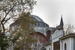 Istanbul, Hagia Sophia von Hagia Eirene gesehen
