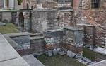 Istanbul, Hagia Eirene, Fundamente im Südosten