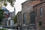 Istanbul, Hagia Eirene von Südosten, links Hagia Sophia