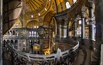 Istanbul, Hagia Sophia: Blick von südöstl. Exedra Richtung Nordost