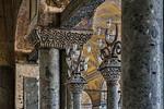 Istanbul, Hagia Sophia: Kapitelle der Kaiserinnenloge im westl. Emporenraum