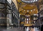Istanbul, Hagia Sophia: Blick von Westen Richtung Apsis