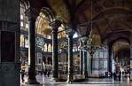Istanbul, Hagia Sophia: Blick aus nördl. Seitenraum Richtung Südwesten