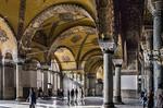 Istanbul, Hagia Sophia: südl. Emporensaal Richtung Westen