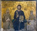 Istanbul, Hagia Sophia: Konstantin Monomachos und Zoe (um 1040)