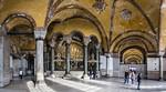 Istanbul, Hagia Sophia: südwestl. Emporen-Eckraum
