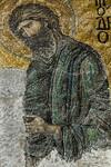 Istanbul, Hagia Sophia: Große Deesis - Johannes (Ende 13. Jh.)