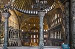 Istanbul, Hagia Sophia: Kaiserinnenloge im westl. Emporenraum