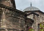 Istanbul, Pammakaristos-Kloster: Grabkapelle von Süden, Detail