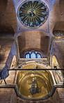 Istanbul, Pammakaristos: Blick auf Apsis und Kuppelmosaik