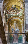 Istanbul, Pammakaristos: Kirchenväter, in Kuppel Antonius