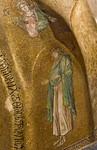 Istanbul, Pammakaristos: Johannes der Täufer in Apsis mit Erzengel