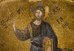Istanbul, Pammakaristos: Christus in Apsis, Detail