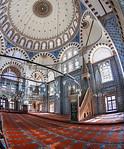 Istanbul, Rüstem Pascha: Totale des Innenraums nach Osten