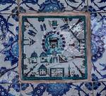 Istanbul, Rüstem Pascha: Ka'aba-Fliese in Vorhalle