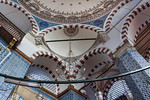 Istanbul, Rüstem Pascha: Gewölbeansatz Richtung Norden