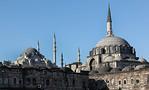 Istanbul, Rüstem Pascha von Osten, links Süleymaniye