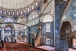Istanbul, Rüstem Pascha: Totale des Innenraums aus westlicher Ecke