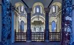Istanbul, Sergios und Bakchos: Blick von Empore durch Säulen auf Apsis