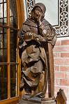 Güstrow, Dom. Apostelfigur (Claus Berg, nach 1532)