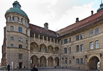 Güstrow. Schloss. Innenhof, Süd- und Westflügel