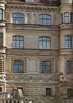 Güstrow. Schloss. Westfassade, Detail
