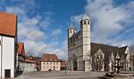 Gandersheim. Stiftskirche: Ansicht von Südwesten