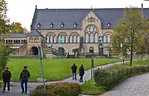 Goslar. Blick auf Pfalz