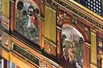 Goslar. Marktkirche Cosmas und Damian: Kanzel, Reliefs (H. Seek, 1581)