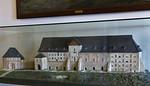 Goslar. Modell des Kaiserhauses = Pfalz vor Umbau nach 1868