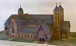 Goslar. Modell des zerstörten Doms