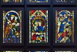 Goslar. Marktkirche Cosmas und Damian, Fenster 4 bis 6 (vor 1250)