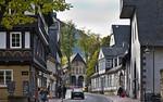 Goslar. Blick von Norden auf Domvorhalle des ehem. Doms (eig. Stiftskirche)