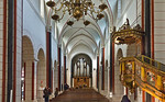 Goslar. Marktkirche Cosmas und Damian, Längsschiff nach Westen