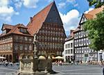 Hildesheim, Markt: Bäckeramts- und Knochenhaueramtshaus