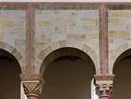 Hildesheim. St.Godehard, Detail der Längsschiffswand