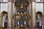 Hildesheim. St.Godehard, Leuchterkrone der Königin Marie (1863)