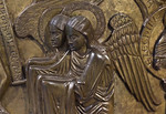 Taufbecken aus Hildesheimer Dom: Taufe im Jordan, Detail