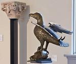 Adlerpult aus dem Dom (um 1220) [Dommuseum Hildesheim, bis 4/2013 Bodemuseum Berlin]