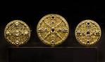 Scheibenkreuze (um 1130) [Dommuseum Hildesheim, bis 4/2013 Bodemuseum Berlin]