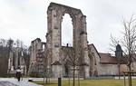 Walkenried, ehem. Zisterzienserkloster St. Maria. Kirchenruine von Nordwesten